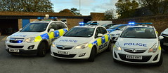 Durham Constabulary - Vauxhall Response Vehicles (Chris' 999 Pics) Tags: durham constabulary incident response vehicle irv policing car 999 112 emergency law enforcement vauxhall antara astra corsa rural km64tjx kt12baa kv62kht