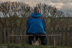 One Man and his Dog! (sharongellyroo) Tags: dodge bordercollie oldmangellyroo clarecountrypark clare suffolk walkies