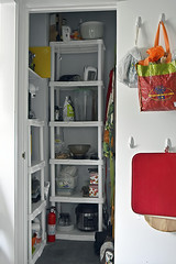 Pantry Detail (☼☼I'm So Ready For Spring!☼☼) Tags: odc resolution pantrydetail cleaning rearranging shelves items gadgets