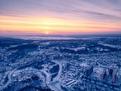 Winter sunset (alvytsk) Tags: siberia winter tomsk sunset drone above beautyful niceview topview djimavic mavicpro