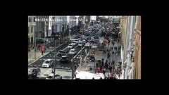 Gran Vía, 29 hours on 9–10 Nov 2018 (tripu) Tags: 2018 november spain madrid city granvía street downtown citycentre urban callao traffic building day night people timelapse fast mute video