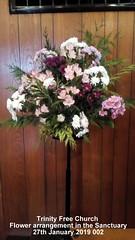 Trinity Free Church - Flower arrangement in the Sanctuary 27th January 2019 002 (D@viD_2.011) Tags: trinity free church flower arrangement sanctuary 27th january 2019