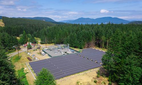 Decatur Community Solar Aerial