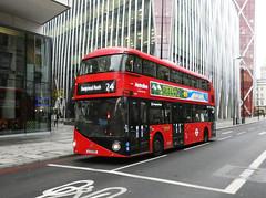 ML LT31 - LTZ1031 - VICTORIA - FRI 16TH NOV 2018 (Bexleybus) Tags: victoria street wrightbus nbfl new routemaster boris bus borismaster metroline tfl route 24 lt31 ltz1031