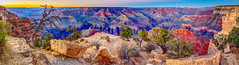 Twilight Colors (Greg Lundgren Photography) Tags: grandcanyon nationalpark arizona arizonaphotography unitedstates northamerica southwest desert canyon twilight sunset powellpoint panorama travel roadtrip vacation iconic rockformation coloradoriver hdr canon
