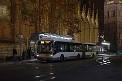 577BBH Gent 25/11/18 (MCW1987) Tags: de lijn ghent gent belgium van hool ag300 5370 557bbh