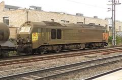 67027 West Hampstead Thameslink (localet63) Tags: class67 colasrail 3j93 westhampsteadthameslink rhtt 67027