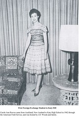 1962-First Foreign Exchange Student (Katy ISD) Tags: 1960s students organization exchangestudent katyhighschool woodsjd