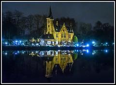 Paseando por Bélgica (edomingo) Tags: edomingo olympusomdem5 mzuiko1240 brujas bélgica reflejos mocturnas