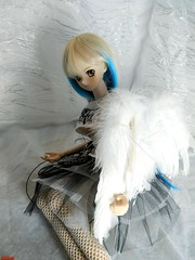 Give me love (sevader.w) Tags: ddh02 aoi bjd doll dollfie dream dollfiedream angel wing feather