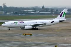 Wamos Air   Airbus A330-200   EC-MNY   London Gatwick (Dennis HKG) Tags: wamos wamosair plm eb pullmantur aircraft airplane airport plane planespotting canon 7d 100400 london gatwick egkk lgw airbus a330 a330200 airbusa330 airbusa330200 ecmny