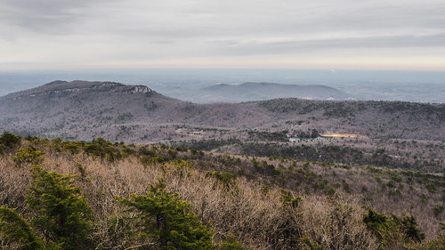 Hanging Rock from Moore's Knob