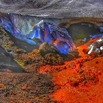 Iceland ~ Landmannalaugar Route ~  Ultramarathon is held on the route each July ~ Glazier thumbnail