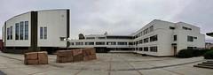 Rovaniemi City Hall (Egon Abresparr) Tags: architecture alvaraalto clock