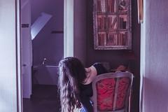 La Mémoire des Lieux. (Violette Nell) Tags: levaldebrangon baden bretagne france maisondhôtes violettenell travel places mood portrait interior film photo analog vintage girl moody dream dreamy feeling aesthetic art 35mm analogue
