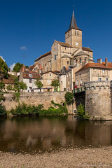 Montmorillon (christian.grelard) Tags: montmorillon vienne france eglise river church poitou tourism book city architecture history