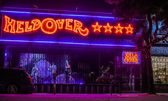 heldover (pbo31) Tags: bayarea california nikon d810 color january 2019 boury pbo31 night dark black neon sign haightstreet shop window ashbury sanfrancisco city orange red purple