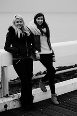 IMG_0103 (boeddhaken) Tags: duoshoot brunette blond blondhair brownhair sexywomen dreamwomen youngwomen women beautifulwomen belgium belgianmodels belgiummodels models greatmodels model greatmodel whitemodel caucasianmodel caucasianmodels caucasian girls dreamgirls 2girls lovelygirls sexygirls cutegirls sea northsea coast beach breakwater dunes