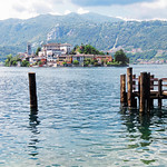 Orta Isola di San Guilio, Italy  by Bill Wastell