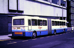 Slide 125-81 (Steve Guess) Tags: sheffield south yorkshire england gb uk bus transport syt leyland dab bendy articulated c107hdt 2007 clipper