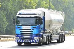 PK67 URU (panmanstan) Tags: scania r450 wagon truck lorry commercial bulk freight transport tanker haulage vehicle a63 everthorpe yorkshire