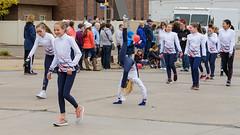 Gymnasts (Josh152) Tags: gymnastics wi girl nikon candid d800 child wisconsin eauclaire ugpc teamupgym parade internationalfallfestival nikond800 afsnikkor2485mmf3545gedvr