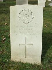 Corporal Robert Bennett (Living in Dorset) Tags: wargrave wardead grave headstone wwi aldershotmilitarycemetery aldershot hampshire england uk gb 1918 robertbennett
