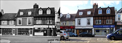 Hampton Wick High Street`1969-2018 (roll the dice) Tags: london old sad surreal lloydsbank canon tourism tourists changes collection local history bygone retro sixties oldandnew pastandpresent hereandnow streetfurniture architecture shops shopping fasshion england uk art classic fashion munchies kingstonuponthames kt1 richmonduponthames tudow windows chimney cars comedy