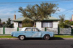 Braybrook (Westographer) Tags: braybrook melbourne australia westernsuburbs suburbia australiansuburbia parked valiant house home twotonevaliant