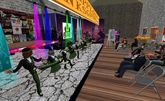 Thanksgiving choir performance (cadeSL) Tags: sl secondlife second life avatars rp roleplay school catholic boarding church abbey choir music dance venue performance art sing singing voices children pupils students show boys girls hall stage lights posters audience