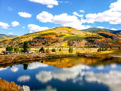Reflections on a beautiful Colorado Autumn (SteBow Photography) Tags: coloradophotography colorado coloradofall colorfulcolorado coloradomountains autumn photo beautiful aspens