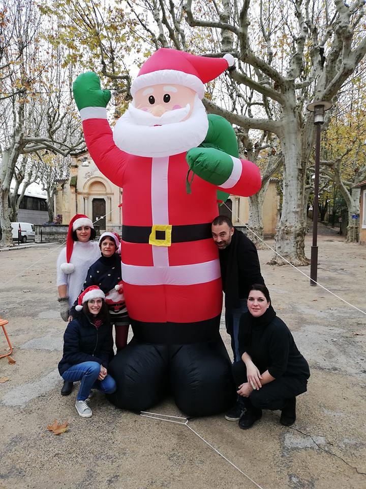Le Noël des commerçants de la Place G. Péri