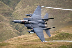F-15 at Bwlch Sept 2018 (cliffwilliams449) Tags: f15 usaf unitedstatesairforce raflakenheath grimreapers machloop lowlevelflying wales bwlch fluff jet action fast aircraft photograph lowflying cliffwilliams photography sonya77mkii sigma150500mmf5663apo