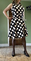 Spotty dress (deborah summers2010) Tags: janet reger slip dress peek