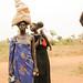 Children and women at Tierkidi Refugee Camp, Gambella Region.