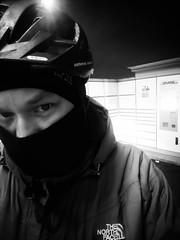 Selfie vom Rad... (Markus Rödder (ZoomLab.de / FotoDinge)) Tags: singlespeed fahrradhauptstadt muenster rideon kalt cold