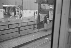 市電車内から臨む