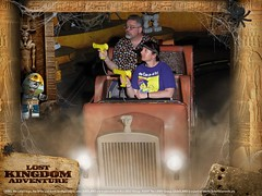 """Tracey and Scott on the Lost Kingdom Adventure • <a style=""""font-size:0.8em;"""" href=""""http://www.flickr.com/photos/28558260@N04/45588434794/"""" target=""""_blank"""">View on Flickr</a>"""