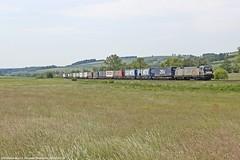 RHC 187 074 am 23.05.2018 mit einem Kesselwagenzug in Haunetal-Neukirchen (Eisenbahner101) Tags: