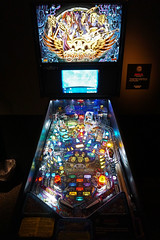 Aerosmith Pinball - Rock and Roll Hall of Fame, Cleveland (SomePhotosTakenByMe) Tags: aerosmith pinball pinballmachine flipperautomat flipper spielautomat urlaub vacation holiday america amerika usa unitedstates cleveland stadt city innenstadt downtown rockandrollhalloffame museum ausstellung exhibition halloffame indoor