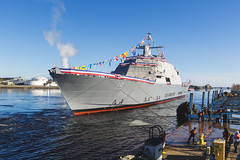 20181215_Y5A8664_m (LCS Team Freedom) Tags: 2018 christening lcs lcs19 launch littoralcombatship marinette shipyard stlouis usnavy usn wi wisconsin