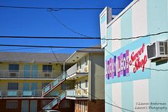 Shore candy colors (lauren3838 photography) Tags: laurensphotography lauren3838photography landscape architecture building candy colorful colors aqua nj newjersey jerseyshore beach boardwalk ocean seaside seasideheights motel tourism nikon d750 catchycolorsaqua tamron tamron2875mm28