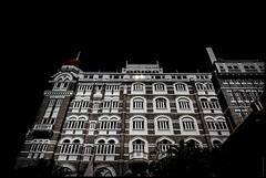 TAJ  MUMBAI (J.P.B) Tags: india taj hotel blackandwhite