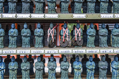 Donated Mini Kannon, Sanzen-in, Ohara (DanÅke Carlsson) Tags: japan japanese sanzenin ohara kyoto kannon mini statues donations coins religion buddhism temple traditional