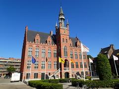 Gemeentehuis, Maldegem (Erf-goed.be) Tags: gemeentehuis maldegem archeonet geotagged geo:lon=3446 geo:lat=51209 oostvlaanderen