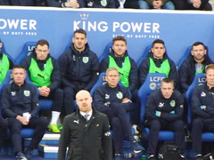 Burnley bench (lcfcian1) Tags: leicester city burnley king power stadium lcfc bfc epl bpl premier league leicestercity burnleyfc leicestervburnley kingpowerstadium sport england stadia premierleague sean dyche seandyche tomheaton