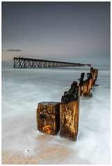 Posts a Pier and sea (Steven Peachey) Tags: seascape sunset sky beach sea canon leefilters 5dmarkiv canon5dmarkiv stevenpeachey northeastengland northeastcoast uk england lee09gnd hitech09gnd steetleypier hartlepool northsands tide ef1740mmf4l