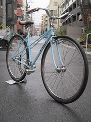 "IMG_2645 (EastRiverCycles) Tags: eastrivercycles イーストリバーサイクルズ vivalo ビバロ kusaka 日下周一 ""シングルスピード"" スチール handmadebicycle ミキスト mixte 700c ""kaisei 019"" 墨田区 自転車 bicycle 東京 tokyo""kobe神戸"