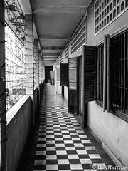 180724-72 Tuol Sleng (S21) (2018 Trip) (clamato39) Tags: tuolsleng s21 musee museum phnompenh cambodge cambodia asia asie voyage trip urban urbain city ville blackandwhite noiretblanc bw monochrome