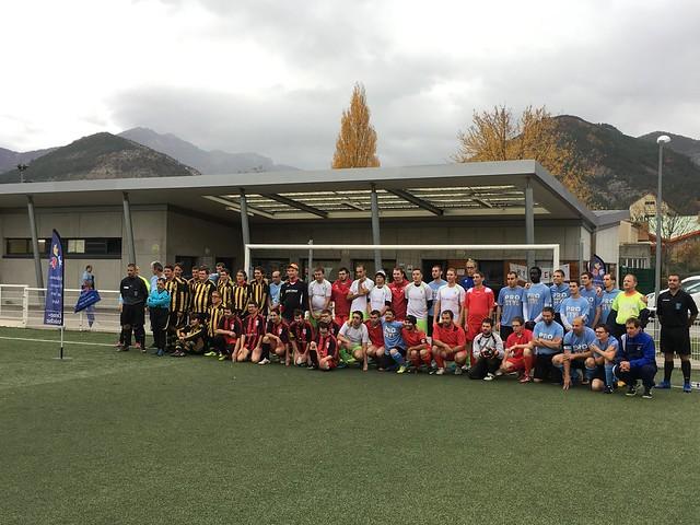 Championnat Régional Foot à 7 [adultes] - secteur 26/07 plateau 2 - Die (26) - 10 novembre 2018